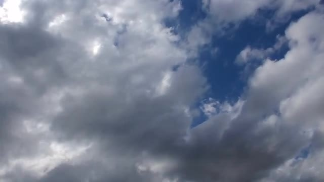 Storm Clouds Forming Below Sky: Stock Video