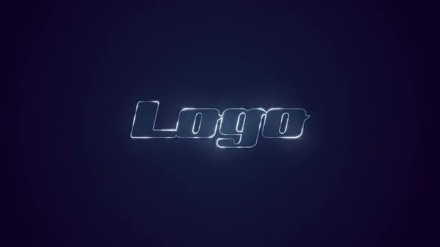 Shiny Magic Logo: DaVinci Resolve Templates