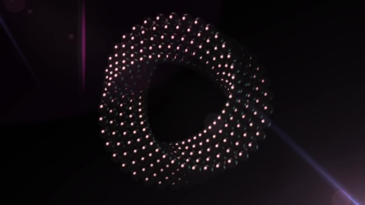 Technology Twisted Circle - Stock Motion Graphics | Motion Array