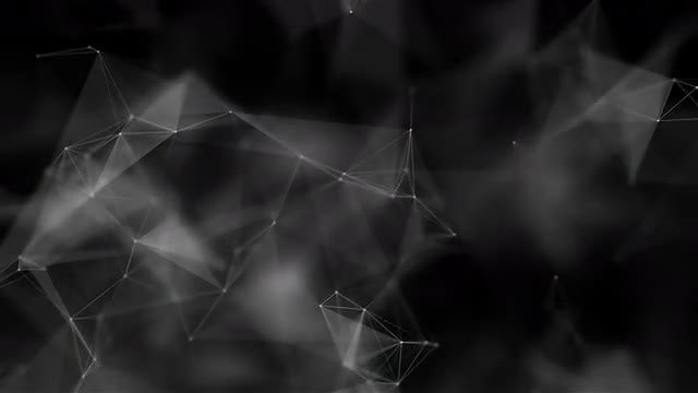 Polyhedron Plexus Looped Animation: Stock Motion Graphics