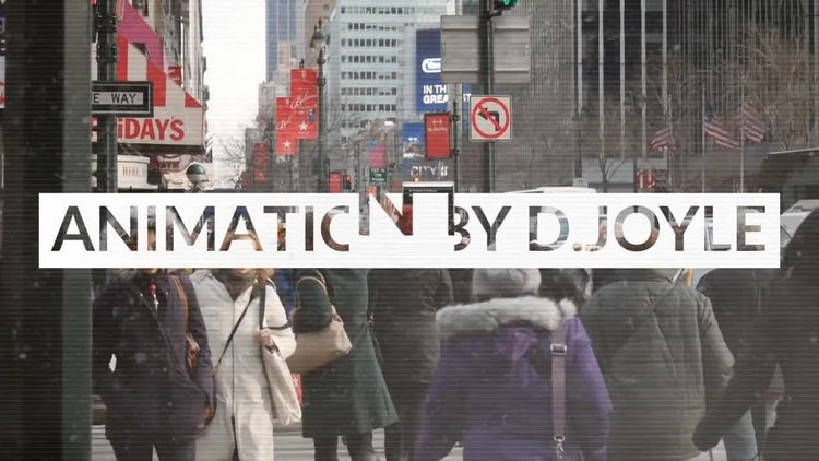 Glitch Urban Opener: After Effects Templates