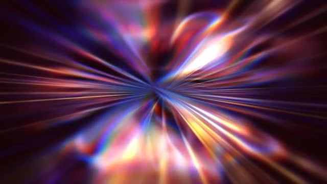 Blurred Pinwheel Lights Abstract Background: Stock Motion Graphics