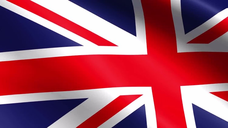 United Kingdom Flag: Stock Motion Graphics