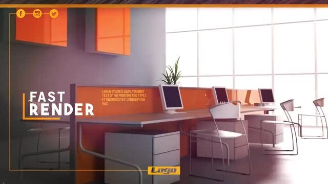 Furniture Promo: After Effects Templates