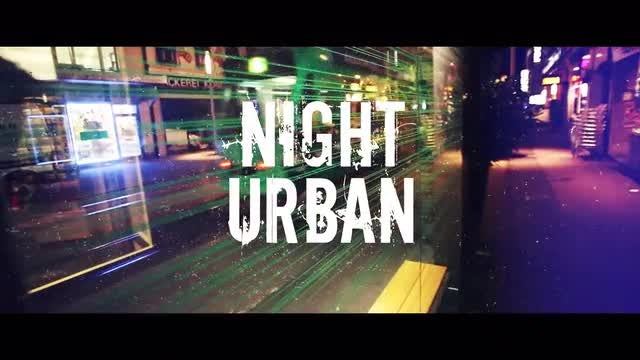 Night Urban: Premiere Pro Templates