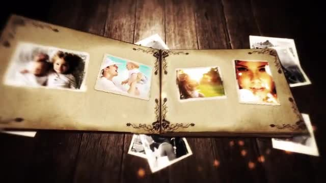 Family Album: After Effects Templates