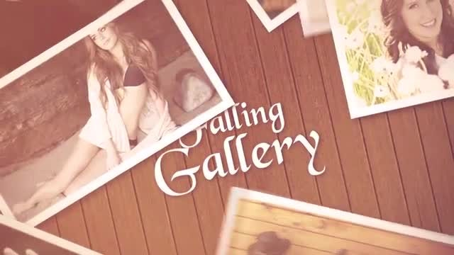 Falling Gallery: After Effects Templates
