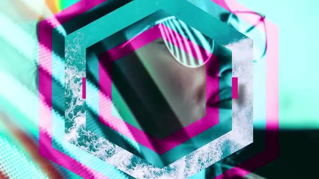 Modern Polygons Transitions: After Effects Templates