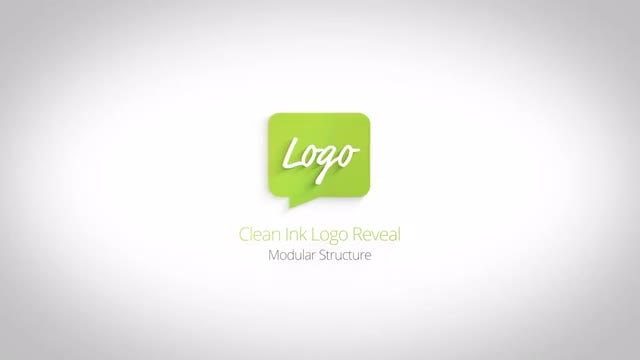 Simple Ink Drop Logo Reveals: After Effects Templates