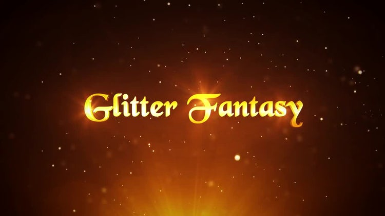 Glitter Fantasy - After Effects Templates | Motion Array