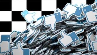 Falling Facebook LikesTransition: Motion Graphics