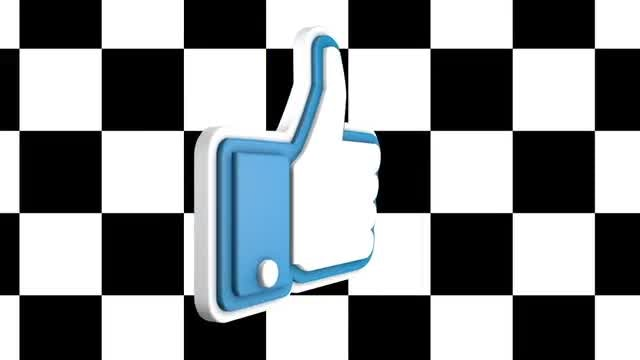 Solo Facebook Like: Stock Motion Graphics