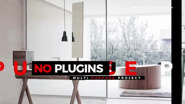 Interior Modern: After Effects Templates