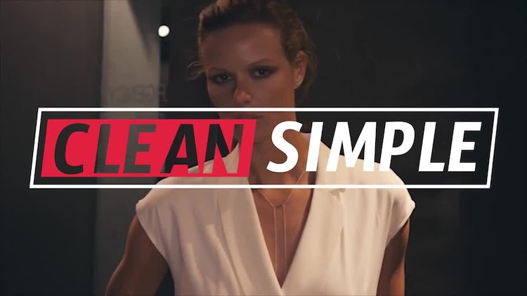 Neo Simple Lower Thirds: After Effects Templates