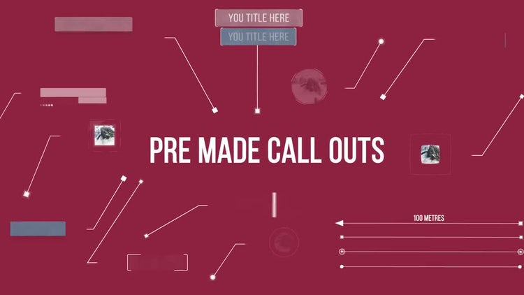Call Outs Design Pack: After Effects Templates