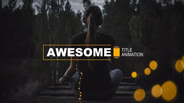 Stylish Titles & Lower Thirds: After Effects Templates