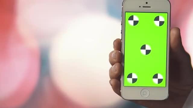 Three Clicks On Smartphone: Stock Video