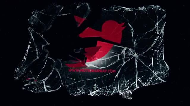 Broken Glass Logo: After Effects Templates