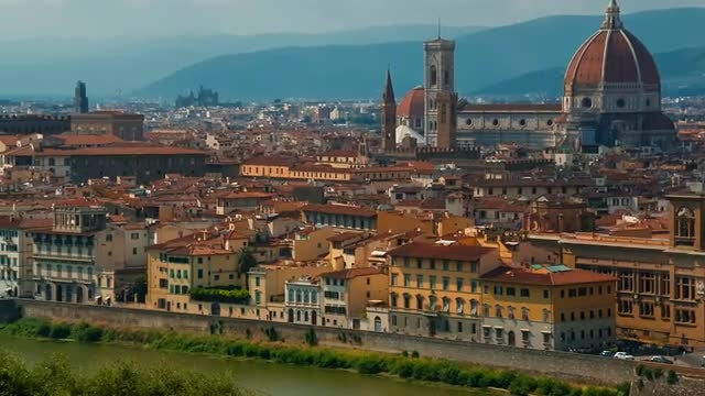 Postcard From Florence: Stock Video