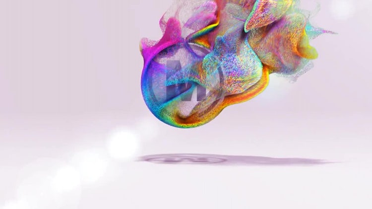 Particles Logo 2: After Effects Templates