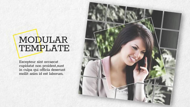 Square Business Promo: After Effects Templates