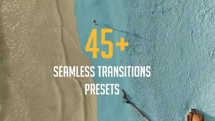 45+ Seamless Transitions Presets: Premiere Pro Presets