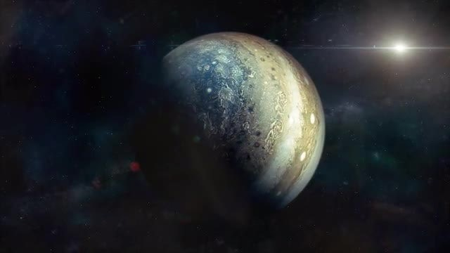 Approaching Jupiter: Stock Motion Graphics