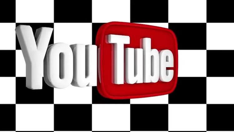 Wide youtube logo spin: Motion Graphics