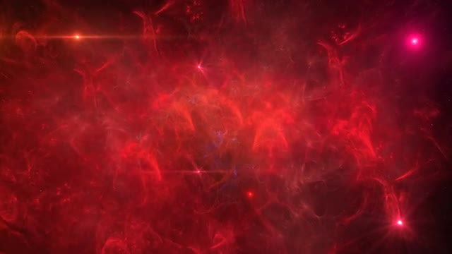 Red Nebula And Bright Stars: Stock Motion Graphics