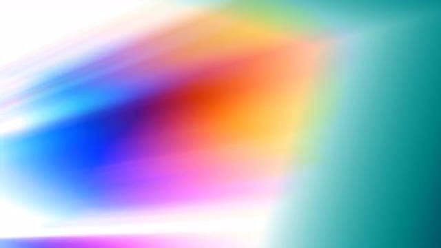 Rainbow Light Abstraction 4K Loop: Stock Motion Graphics