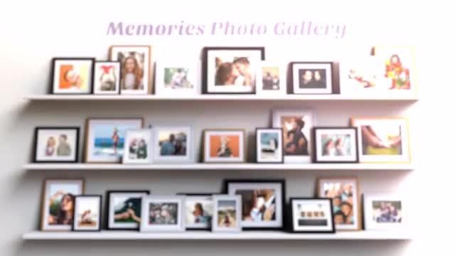 Memories Photo Gallery: After Effects Templates