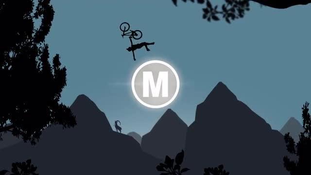 Mountain Biker Logo: Premiere Pro Templates