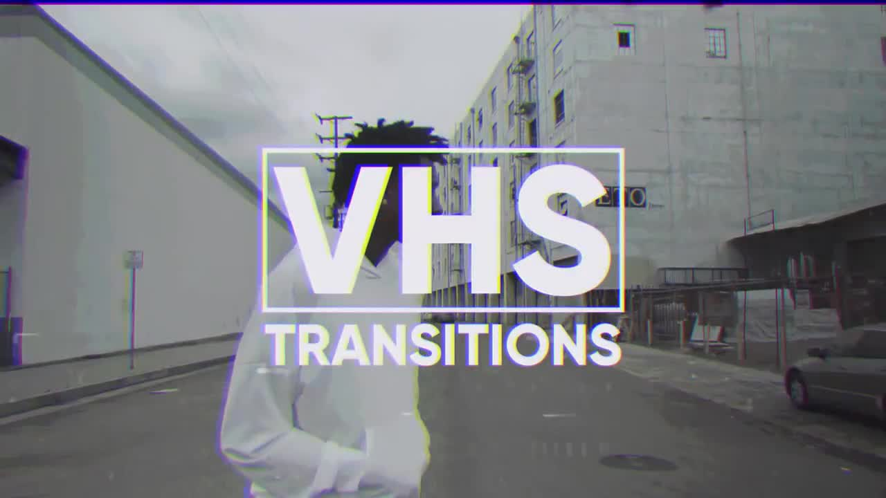 VHS Transitions - Premiere Pro Templates | Motion Array