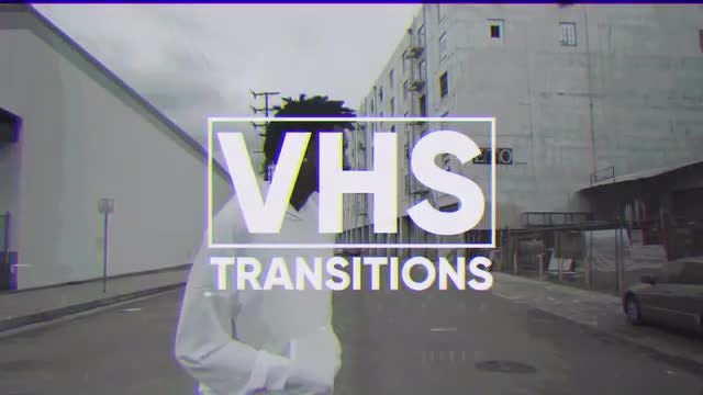 VHS Transitions: Premiere Pro Templates