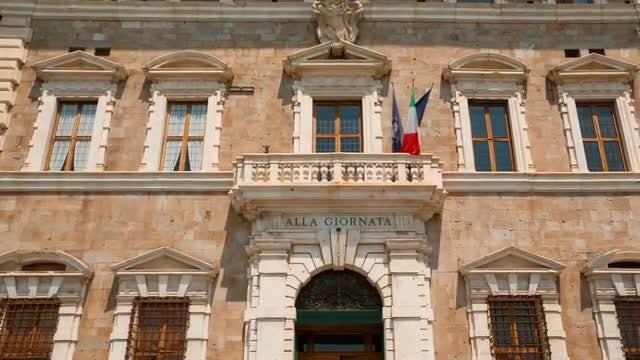 University Of Pisa, Tuscany, Italy: Stock Video