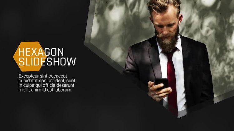 Hexagon Presentation - Slideshow: After Effects Templates