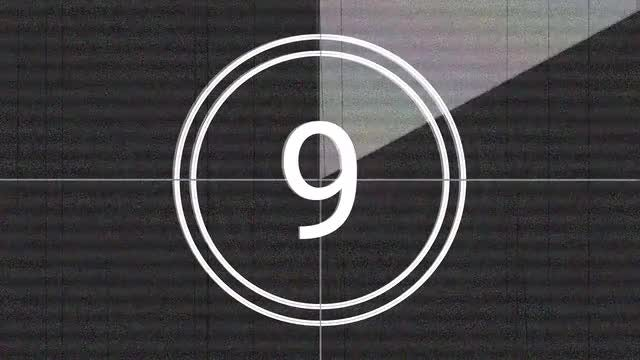 Old Gray Leader Countdown Background: Stock Motion Graphics