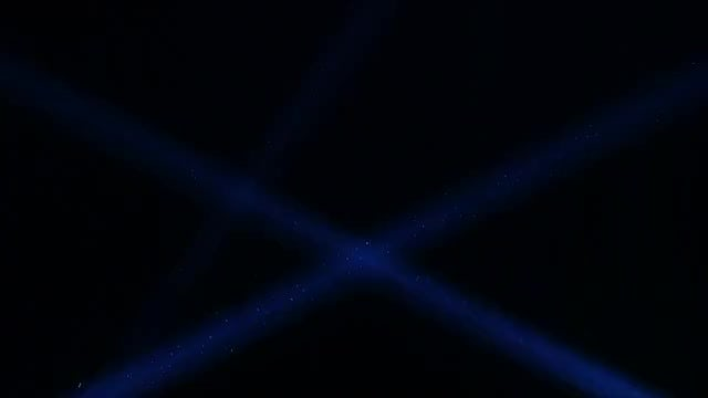 Blue Laser In The Dark: Stock Video
