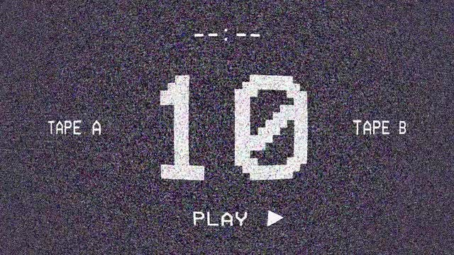 Retro-Digital Screen Countdown: Stock Motion Graphics