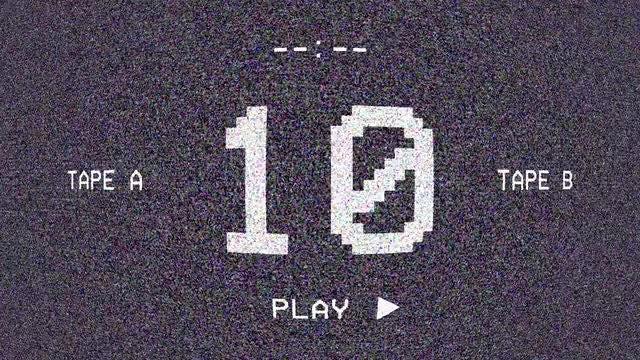Retro-Digital Screen Countdown: Stock Motion Graphics