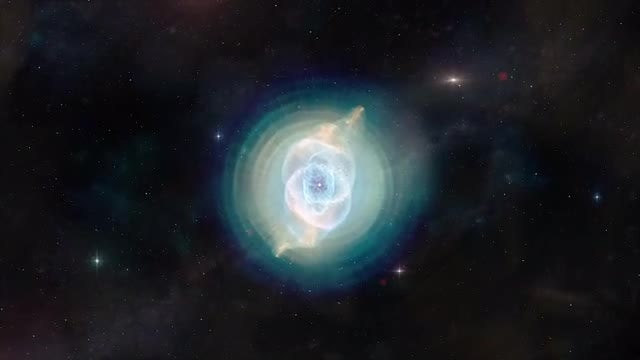 Cats Eye Nebula: Stock Motion Graphics