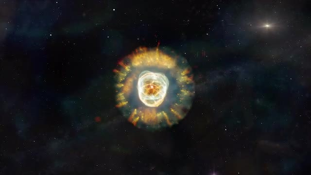 Eskimo Nebula Approach: Stock Motion Graphics