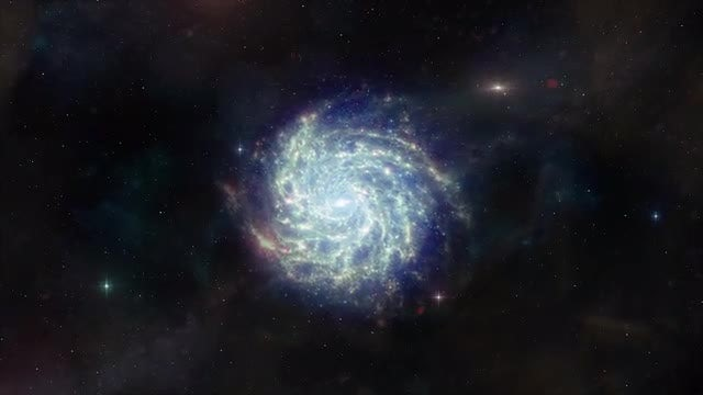 Galaxy Approach 1: Stock Motion Graphics