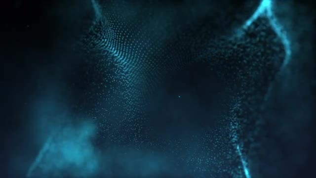 Abstract Particles Form Background 01: Stock Motion Graphics