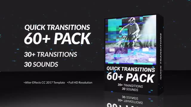 Quick Transitions Pack: After Effects Templates