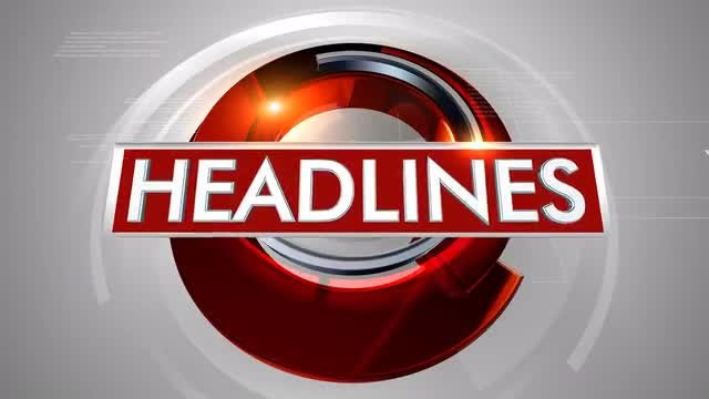 News Broadcast Plate: Headlines: Stock Motion Graphics