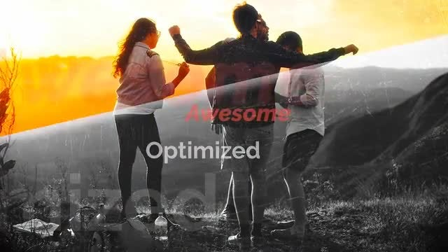 Kaleidoscope Slideshow Opener: After Effects Templates
