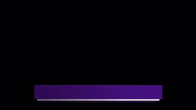 Purple Graphic Third: Stock Motion Graphics