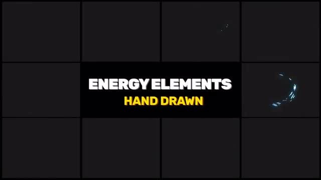 Energy Elements FX Pack: Stock Motion Graphics
