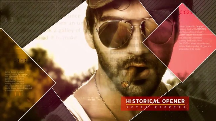 HISTORICAL OPENER: After Effects Templates
